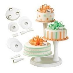 Wilton 3 Tier Pillar Cake...