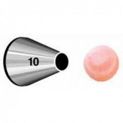Decorating tip 010 (round)...