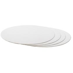Cake board white,  25 cm...