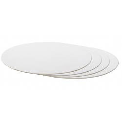 Planche blanc ronde,...