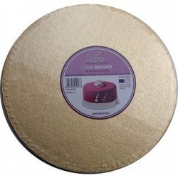 Cake Board Golden, diameter...