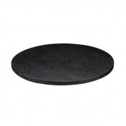 Round cake board black,...