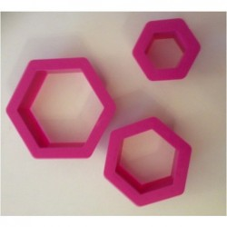 Decora - Hexagon cookie...
