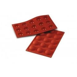 Hemisphere silicone mold, 4 cm