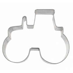 Cookie Cutter tractor, tin...