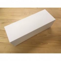 Boîte à bûche blanche, 35 x...