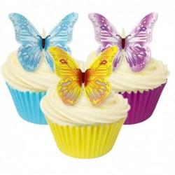 Papillons en azyme, 12 pièces