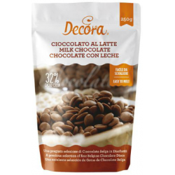 Decora - Chocolat brun (32%...