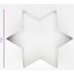 Cookie cutter star, 7 cm