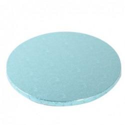 Planche bleu clair ronde,...