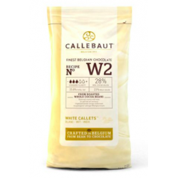 Callebaut - Chocolat blanc,...