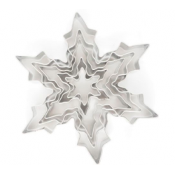 Cookie cutter ice crystal,...