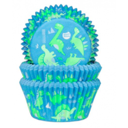 Baking Cups dino, 50 pieces