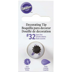 Decorating tip 32 (star)...