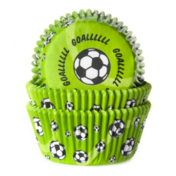 Caissettes à cupcakes Goal...