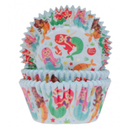 Baking Cups mermaid, 50 pieces
