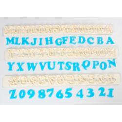 FMM Emporte-pièce Alphabet...