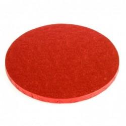 Cake Board red, cm 25...