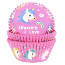 Baking Cups unicorn, 50 pieces
