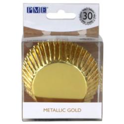 Cupcake Cups Gold Foil 30...