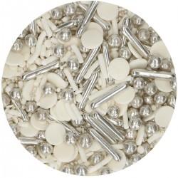 Funcakes - Confetti Silver...