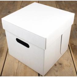 Cake box, 25.5 x 25.5 x 25 cm
