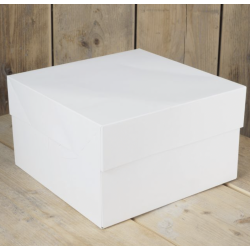 Cake box, 20.3 x 20.3 x 15 cm