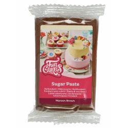 Funcakes pâte à sucre brun,...