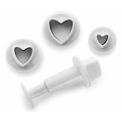 Ibili - heart fondant...