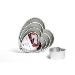 Heart Cake Pan, aluminium...
