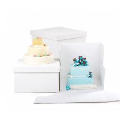 Cake box , 36 x 36 x 25 cm