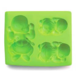 Ibili - Silicon Mold babies