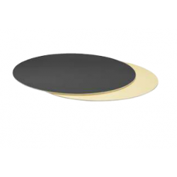 Cake Board Golden and black...